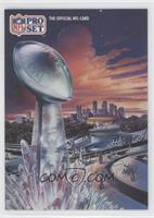 Super Bowl XXVI Art