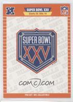 Super Bowl XXV Logo