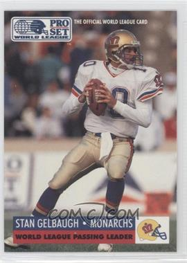 1991 Pro Set WLAF - [Base] #21 - Stan Gelbaugh