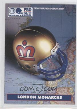 1991 Pro Set WLAF Helmets #4 - [Missing]