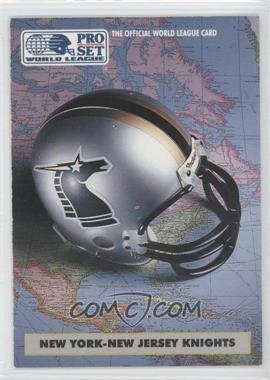 1991 Pro Set WLAF Helmets #6 - [Missing]
