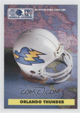 1991 Pro Set WLAF Helmets #7 - [Missing]