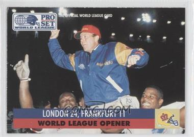 1991 Pro Set WLAF Inserts #2 - [Missing]