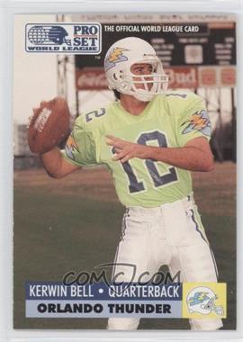 1991 Pro Set WLAF Inserts #22 - Kerwin Bell