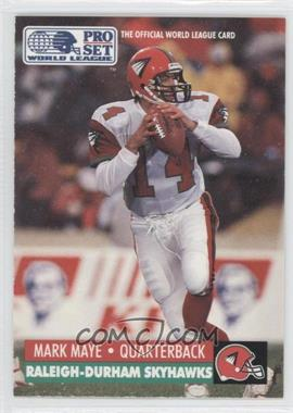 1991 Pro Set WLAF Inserts #26 - [Missing]