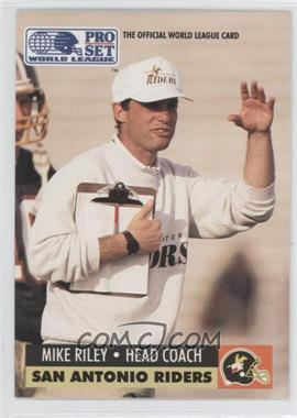 1991 Pro Set WLAF Inserts #30 - Mike Richardson