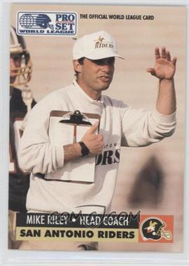 1991 Pro Set WLAF Inserts #30 - Mike Riley