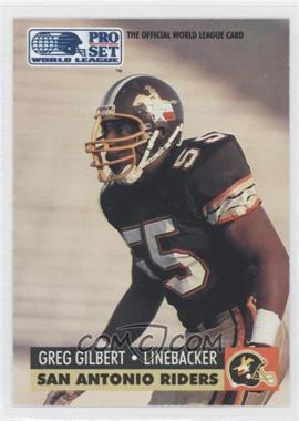 1991 Pro Set WLAF Inserts #32 - Grant Gillis