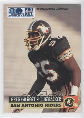 1991 Pro Set WLAF Inserts #32 - [Missing]