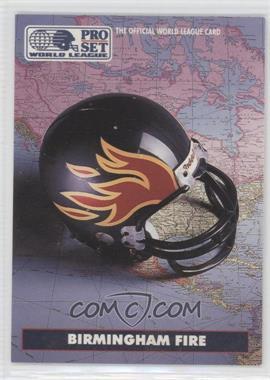 1991 Pro Set WLAF #11 - Birmingham Fire (WLAF) Team