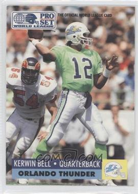 1991 Pro Set WLAF #111 - Kerwin Bell