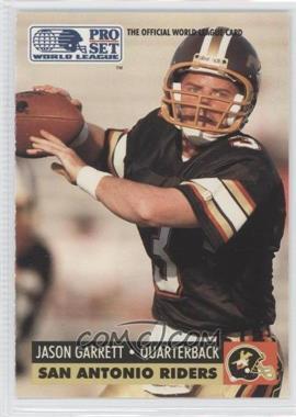 1991 Pro Set WLAF #143 - Jason Garrett