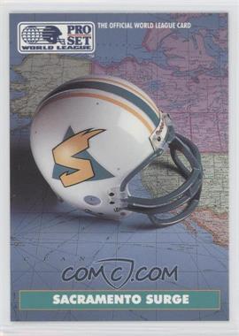 1991 Pro Set WLAF #18 - Sacramento Surge (WLAF) Team