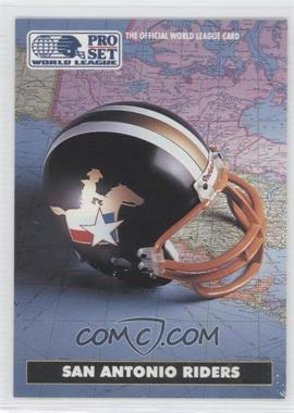 1991 Pro Set WLAF #19 - San Antonio Riders (WLAF) Team
