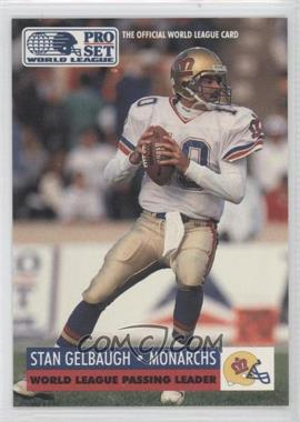 1991 Pro Set WLAF #21 - Stan Gelbaugh