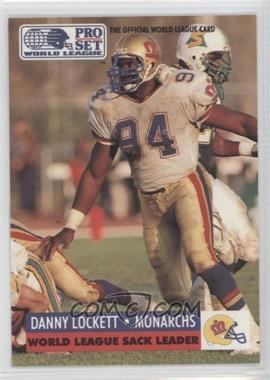 1991 Pro Set WLAF #29 - Danny Lockett