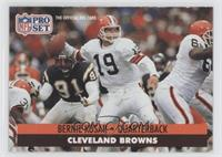 Bernie Kosar (Error: No NFLPA Logo on Back)