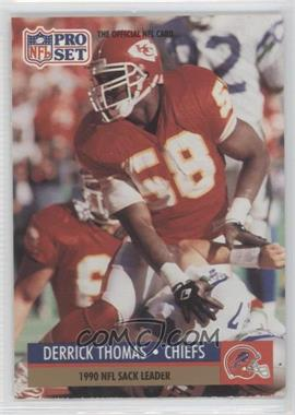 1991 Pro Set #19.1 - Derrick Thomas (Error: Buffalo Bills Helmet on Front)