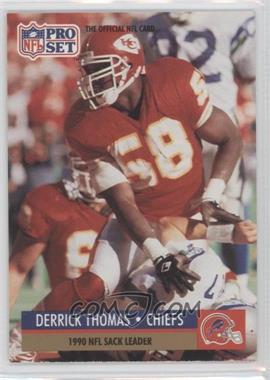 1991 Pro Set #19.1 - Derrick Thomas (Error: Buffalo Bills Helmet on Front)