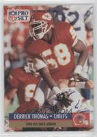 Derrick Thomas Buffalo Bills Helmet on front