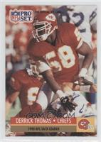 Derrick Thomas (Corrected: Kansas City Chiefs Helmet on Front)