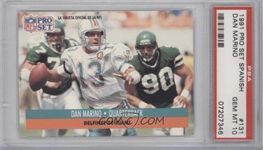 1991 Pro Set #210 - Dan Marino [PSA10]