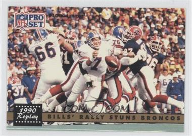 1991 Pro Set #326 - Buffalo Bills Team