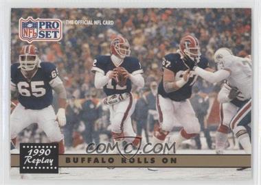 1991 Pro Set #341.1 - Buffalo Bills Team (Error: NFLPA logo on Back)