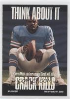 Think About It - Warren Moon (Small Text on Back)