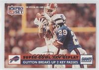 Guyton Breaks Up 2 Key Passes (Myron Guyton)