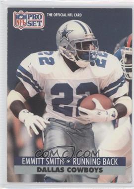 1991 Pro Set #485 - Emmitt Smith