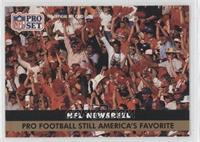 Pro Football Still America's Favorite