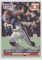 Cornelius Bennett (error: NFL PA logo on back)