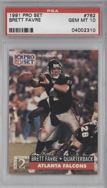 1991 Pro Set #762 - Brett Favre [PSA10]