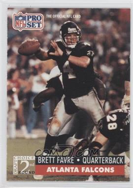 1991 Pro Set #762 - Brett Favre