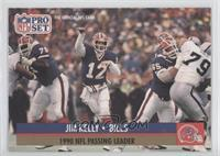 Jim Kelly (Error: No NFLPA Logo on back)
