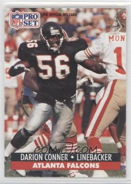 1991 Pro Set #92.1 - Darion Conner (1st Round 99)