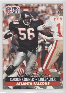 1991 Pro Set #92.1 - Darion Conner (Error: 1st Round '99)