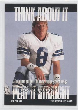 1991 Pro Set #NoN - Troy Aikman