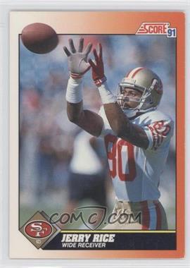 1991 Score - [Base] #380 - Jerry Rice