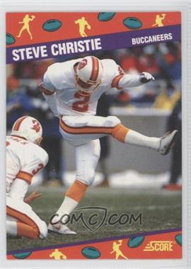 1991 Score National Convention - [Base] #5 - Steve Christie