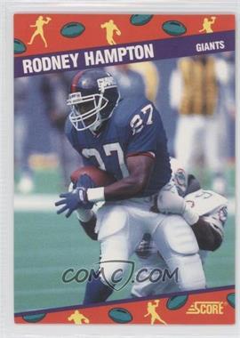 1991 Score National Convention #9 - Rodney Hampton