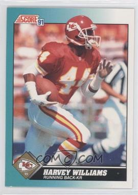 1991 Score Rookie & Traded - [Base] #89T - Harvey Williams