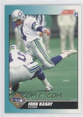 1991 Score Rookie & Traded - [Base] #96T - John Kasay