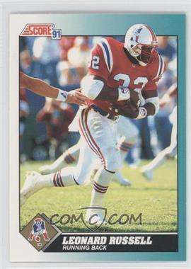1991 Score Rookie & Traded #109T - Leonard Russell