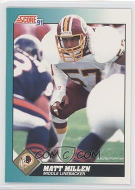 1991 Score Rookie & Traded #2T - Matt Millen