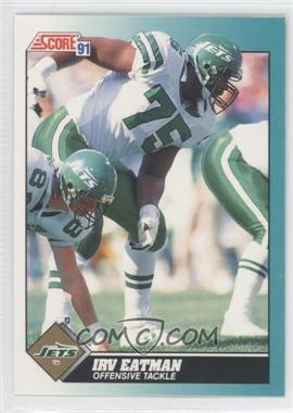 1991 Score Rookie & Traded #41T - Irv Eatman