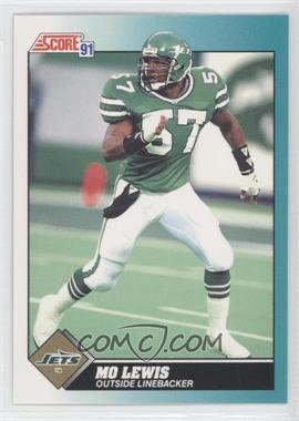 1991 Score Rookie & Traded #63T - Mo Lewis