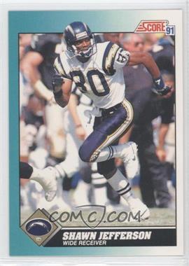 1991 Score Rookie & Traded #67T - Shawn Jefferson