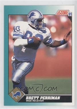 1991 Score Rookie & Traded #6T - Brett Perriman